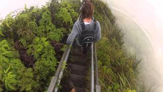 Stairway to Heaven - Haiku Stairs In Hawaii