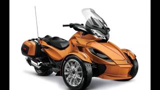 7. 2014 canam spyder st limited