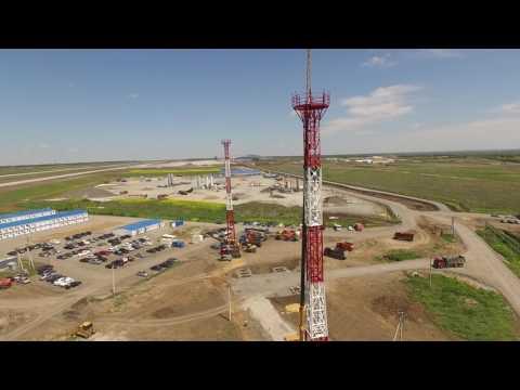 Агрисовгаз произвел антенные опоры для международного аэропорта
