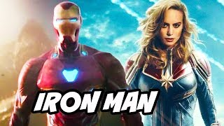 Video Captain Marvel Iron Man Avengers Scene Easter Egg Explained MP3, 3GP, MP4, WEBM, AVI, FLV Agustus 2018