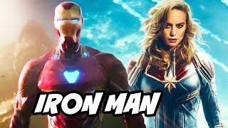 Video Captain Marvel Iron Man Avengers Scene Easter Egg Explained MP3, 3GP, MP4, WEBM, AVI, FLV September 2018