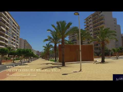 Luxury apartments with 3 bedrooms 200m from the sea in Benidorm (La Cala)