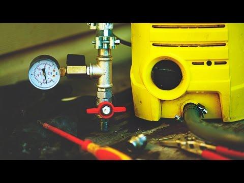 Насос для опрессовки системы отопления своими руками 61