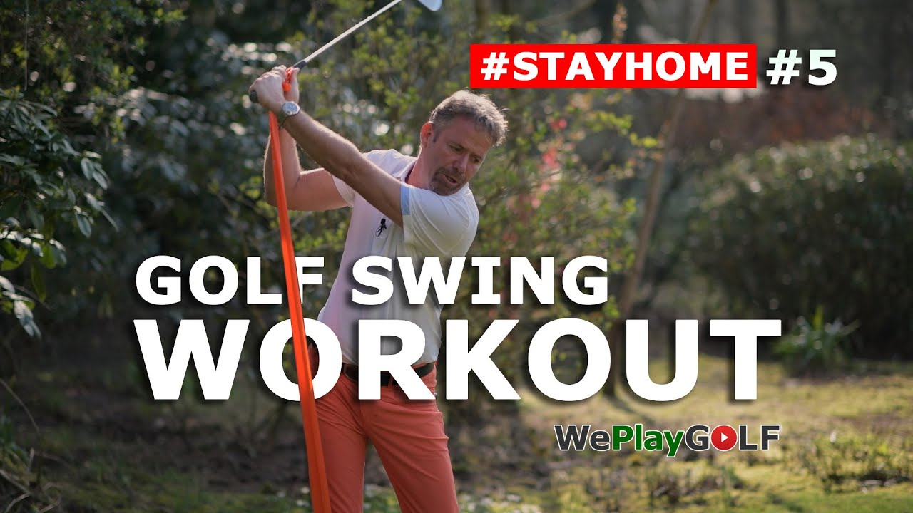 Golf Workout at home for more strenght and speed in your golf swing
