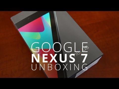 jon4lakers - Nexus 7 Unboxing! The New Tablet King? Months of anticipation and hype has culminated in the Nexus 7. At Google's I/O conference on Wednesday, the Mountain V...