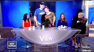 Meghan McCain's Emotional  Return To The View After Her Fathers Passing