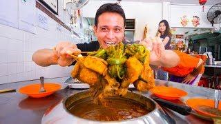 Video Malaysian Food in Melaka - SPECIAL SATAY + Asam Pedas and Chicken Rice Balls | Malacca, Malaysia! MP3, 3GP, MP4, WEBM, AVI, FLV Februari 2019