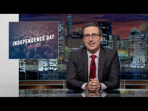John Oliver on Independence Day