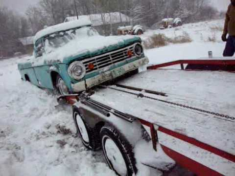 Challenging The Weather To Save The 60's Fargo Truck
