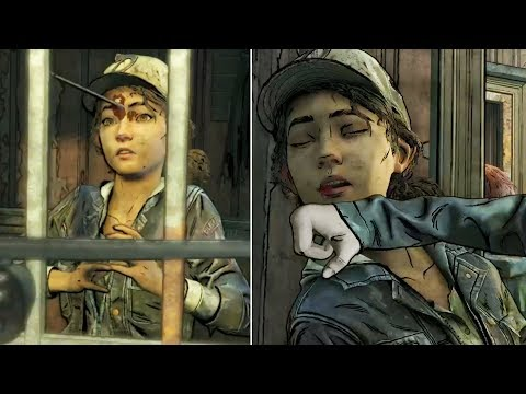 Violet and Minerva Kill Clementine Inside the Cell - The Walking Dead The Final Season Episode 3