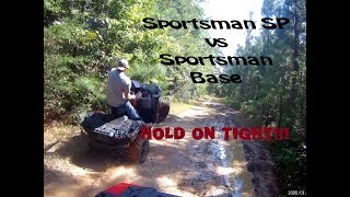 2. Polaris Sportsman 850 SP vs Base 850 Sportsman 2018 Hot Laps