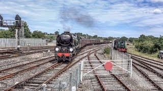 The End Of Southern Steam Railtour Saturday 8th July 2017 At Yeovil Junction