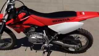8. Honda CRF100F For Sale