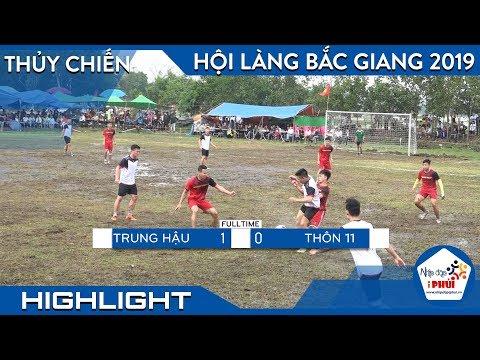 Tứ kết-  Giải bóng đá Nội Đông- Lục Nam- Bắc Giang - Thời lượng: 5 phút, 57 giây.