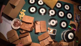 YIPPIE YEAH<br>Making and packaging Yippie Yeah CDs