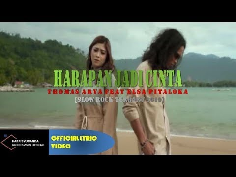 Thomas Arya & Elsa Pitaloka - Harapan Cinta Jadi Dilema ( Official Lyric Video )
