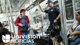 Activan fuerte operativo seguridad en Nueva York tras atentados con explosivos