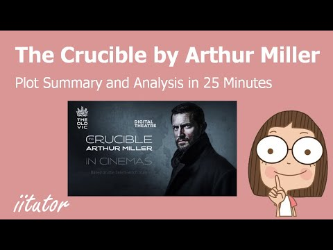 √ The Crucible - Area of Study: Belonging  Arthur Miller - English