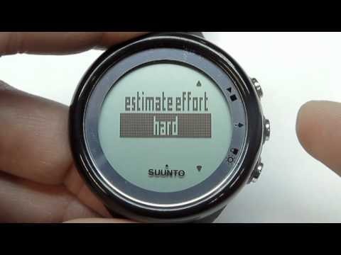 Suunto M4/M5 – How to exercise without HR
