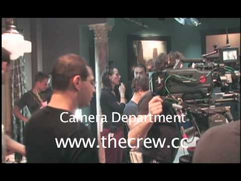 camera department - The camera operator is dead in the centre between the artist and the technology -- trying to blend the two of them together. David Bercovici, Camera Operator...