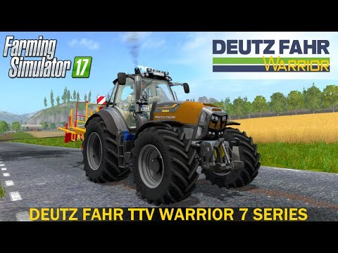 Deutz-Fahr Agrotron 7210 TTV warrior v1.0
