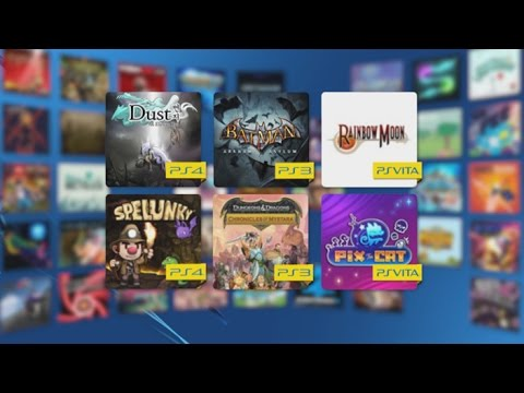 monthly - Check out what's coming to PS Plus in October: Batman Arkham Asylum and Dungeons and Dragons Chronicles of Mystara for PS3, Rainbow Moon and Pix the Cat on PS Vita PLUS Dust: An Elysian Tale,...