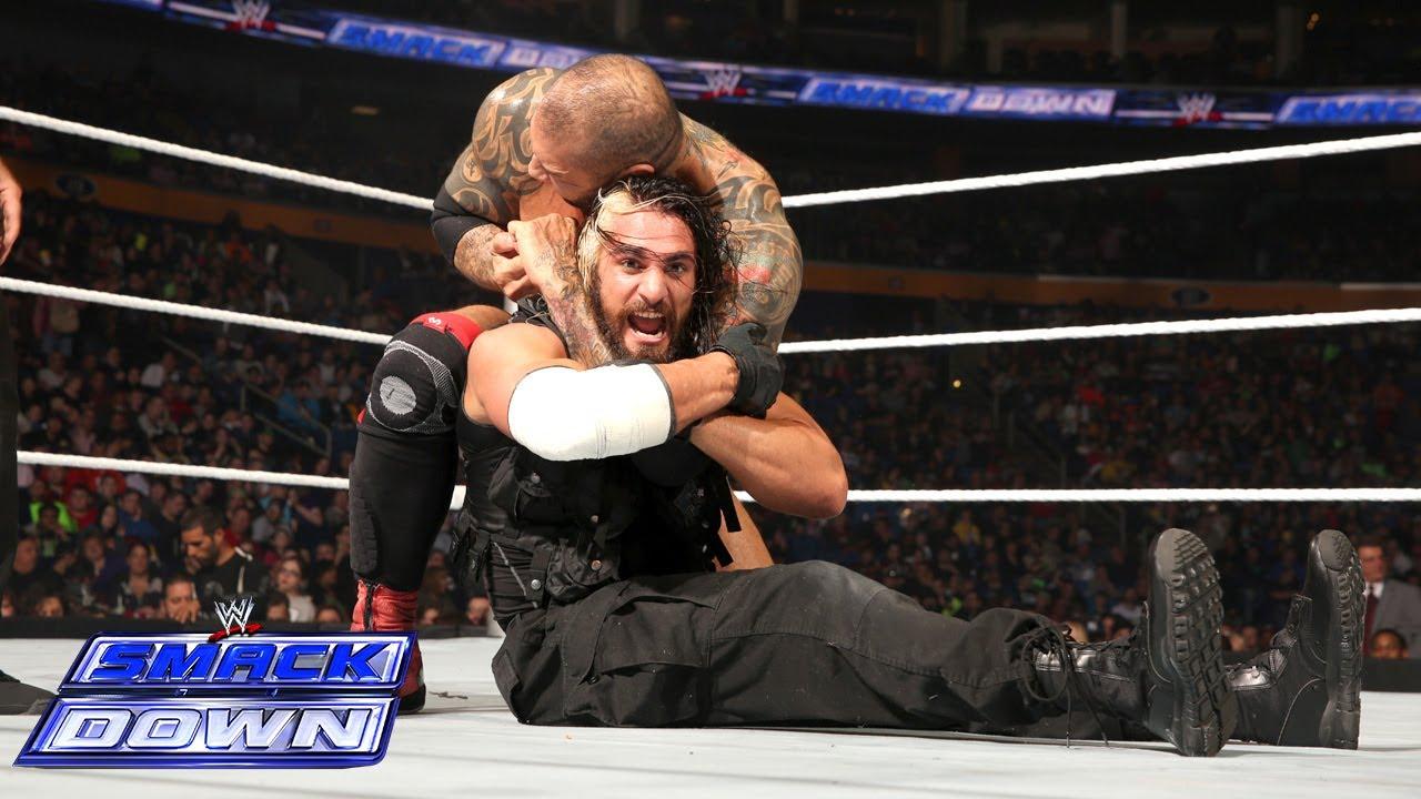 Seth Rollins vs. Batista: SmackDown, May 9, 2014