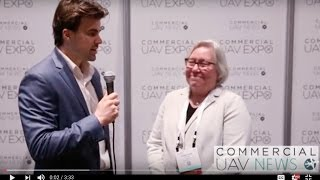 VIDEO: The Impact of Drones on Data Management via Commercial UAV Expo