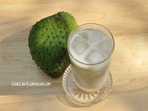 Jamaican Soursop (Guanabana) Juice Recipe Video