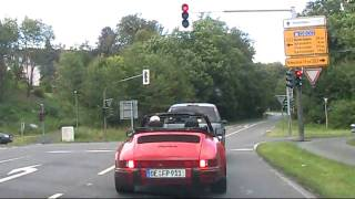 Olpe Germany  city images : Driving in Olpe, Germany - the surrounding landscape (HD)
