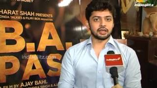 Shadab Kamal Talks About 'B.A. Pass' | Bollywood Movie | Shilpa Shukla, Dibyendu Bhattacharya