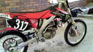 7. FOR SALE Honda CRF250R 2008 Many Extras SOLD