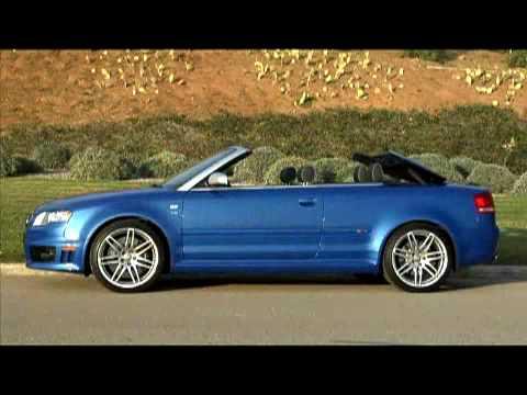 2008 Audi RS4 Cabriolet by Edmunds' Inside Line