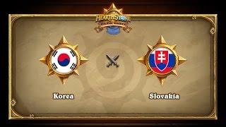 KOR vs SVK, game 1