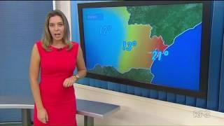Previsão do Tempo para Curitiba no Paraná TV 2ª Edição (27/01/2017)
