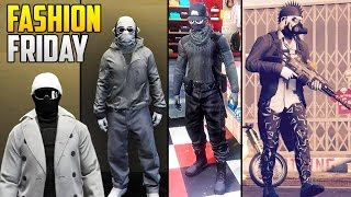 GTA 5 Online FASHION FRIDAY! (Winter Outfits, Scooby-Doo Gang & Much More)