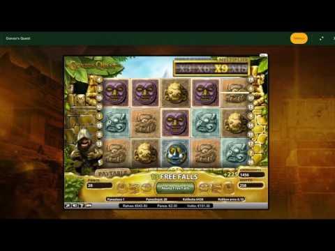 MEGA BIG WIN on Gonzo's Quest - 2€ Bet