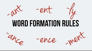 Download Lagu English. Word formation. Suffixes ant, ent, ance, ence, ment. Adverbs with -ly Mp3