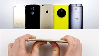 iPhone 6 Bend Test + HTC One M8, Moto X, Others