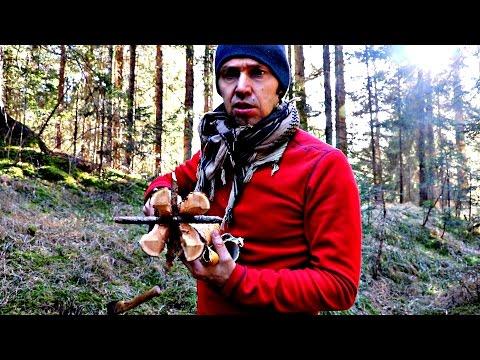 Torcia svedese e torcia portatile da campo Bushcraft Outdoor