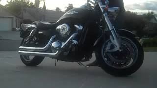 2. 2005 Suzuki Boulevard M95. Stock exhaust vs Cobra Speedster Shorts.