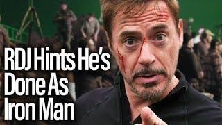 Nonton Robert Downey Jr. Hints He's Leaving MCU Film Subtitle Indonesia Streaming Movie Download