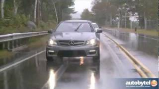 2012 Mercedes-Benz C-Class Coupe Test Drive&Car Review
