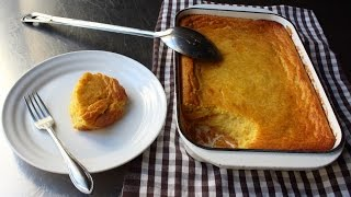 Creamy Corn Pudding Recipe - How to Make Classic Corn Pudding by Food Wishes