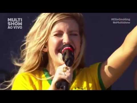 Ellie Goulding  - Bad Girls / Salt Skin / Only You (Lollapalooza, Sao Paulo Brazil, 2014)