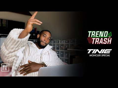 Tinie Talks £1k Moncler Jackets, Moncler Bags, Shorts & More | Trend or Trash