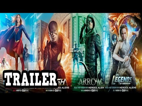 The Invasion Extended Trailer The Flash,Arrow, Supergirl And LegendsOfTomorrow Breakdown!!