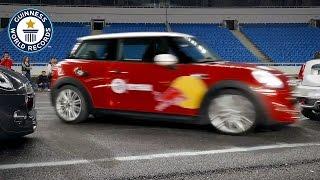 Rekord świata w parkowaniu na centymetry z zaciągniętym ręcznym