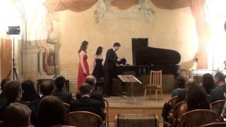 Koncert Me Muzike Shqiptare Konservatori  Prage: Skenderi,Tole, Zadeja,çako,Sokoli, Peçi