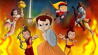 Nonton Wonder Warriors Starring Chhota Bheem  Mighty Raju  Krishna Balaram   Luv Kushh Film Subtitle Indonesia Streaming Movie Download